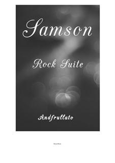 Рок сюита 'Самсон', Op.40: Рок сюита 'Самсон' by Andfrullato