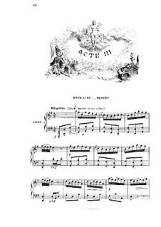 Манон: Акт III. Аранжировка для голосов и фортепиано by Жюль Массне