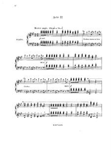 Панург: Акт II. Аранжировка для солистов, хора и фортепиано by Жюль Массне