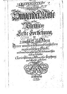 Singing Muse on the Pleisse: Книга II by Иоганн Сигизмунд Шольце