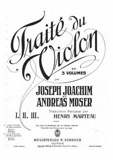 Школа игры на скрипке: Тетрадь Ib by Йозеф Иоахим