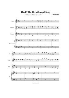 Версия для нескольких инструментов: For quartet by Феликс Мендельсон-Бартольди