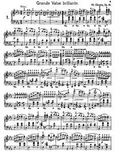 Избранные вальсы: No.1-9 by Фредерик Шопен