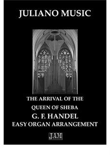 Соломон, HWV 67: The Arrival of the Queen of Sheba, for easy organ - C version by Георг Фридрих Гендель