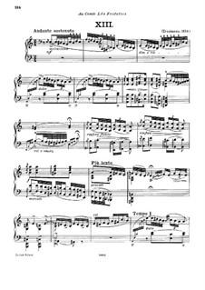 No.13 ля минор, S.244: Для фортепиано by Франц Лист