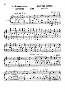 Фрагменты: Акт V, для солистов, хора и фортепиано by Михаил Глинка