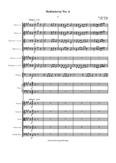 Sinfonietta No.6: Sinfonietta No.6 by Jordan Grigg