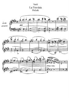 Фрагменты: Акт I, для солистов, хора и фортепиано by Джузеппе Верди