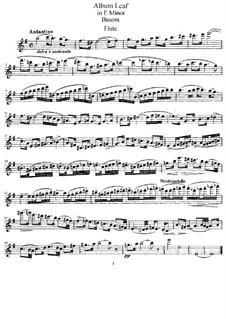 Три листка из альбома, BV 289: No.1, сольная партия by Ферруччо Бузони
