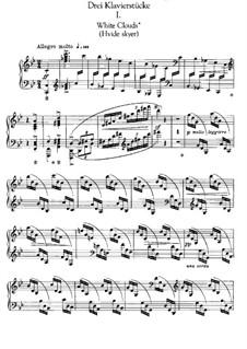Три пьесы для фортепиано: Сборник by Эдвард Григ