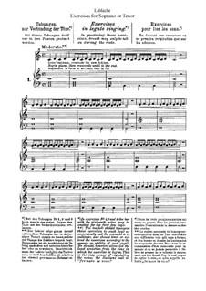 Упражнения для сопрано или тенора: Упражнения для сопрано или тенора by Luigi Lablache