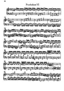 Прелюдия и фуга No.6 ре минор, BWV 875: Для фортепиано by Иоганн Себастьян Бах