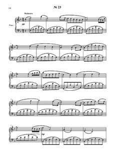 24 прелюдии и фуги для фортепиано: No.23 by Владимир Полионный