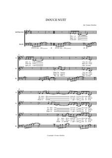 Тихая ночь (ноты для скачивания): Для смешанного хора by Франц Ксавьер Грубер