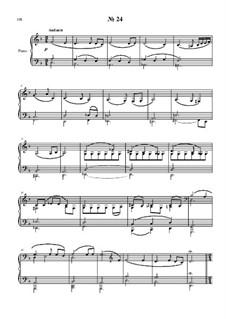 24 прелюдии и фуги для фортепиано: No.24 by Владимир Полионный