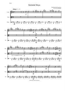 Kalenda Maya: For violin, viola and drum by Raimbaut de Vaqueiras