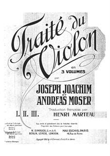 Школа игры на скрипке: Тетрадь IIa by Йозеф Иоахим