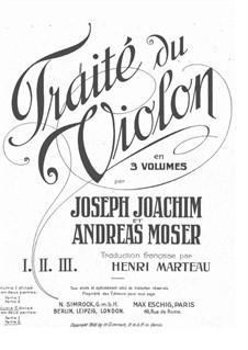 Школа игры на скрипке: Тетрадь IIb by Йозеф Иоахим