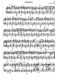 Мазурки, Op. posth.68: No.2 ля минор by Фредерик Шопен