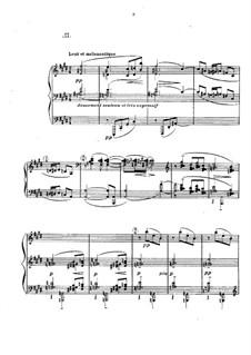 Прелюдии, L.123: No.2 Feuilles mortes by Клод Дебюсси