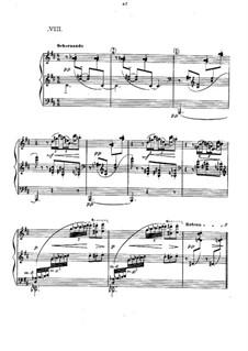 Прелюдии, L.123: No.8 Ondine  by Клод Дебюсси