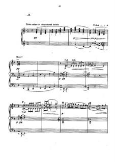 Прелюдии, L.123: No.10 Canope by Клод Дебюсси