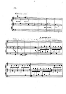 Прелюдии, L.123: No.11 Les tierces alternées by Клод Дебюсси