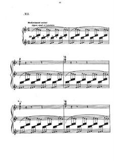 Прелюдии, L.123: No.12 Feux d'artifice by Клод Дебюсси