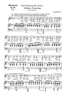 Шесть стихотворений, Op.36: No.5 Возрождение поэта by Роберт Шуман