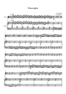 10 Easy Classical Pieces For Viola & Piano Vol.3: Passacaglia by Эдвард Макдоуэлл, Иоганн Штраус (младший), Иоганнес Брамс, Георг Фридрих Гендель, Феликс Мендельсон-Бартольди, Роберт Шуман, Муцио Клементи, Джузеппе Верди, Антон Рубинштейн, Юхан Хальворсен