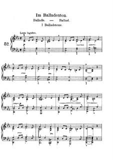 Лирические пьесы, Op.65: No.5 Ballade by Эдвард Григ