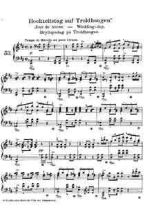 Лирические пьесы, Op.65: No.6 Wedding Day at Troldhaugen by Эдвард Григ