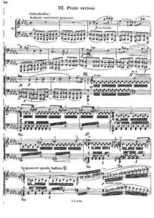 Концерт для фортепиано с оркестром до мажор, BV 247 Op.39: Часть III, для фортепиано в четыре руки by Ферруччо Бузони