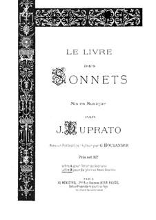 Le livre des sonnets: Le livre des sonnets by Jules Duprato
