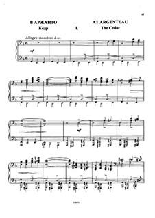 В Аржанто, Op.40: No.1 Кедр by Цезарь Кюи