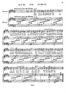 Двадцать пять стихотворений на слова Пушкина, Op.57: No.11 Ты и вы by Цезарь Кюи