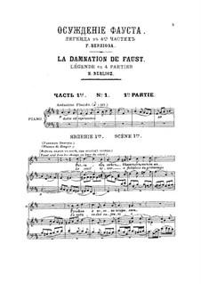 Осуждение Фауста, H.33: Часть I by Гектор Берлиоз