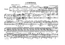 Вся симфония: Версия для фортепиано в четыре руки by Людвиг ван Бетховен