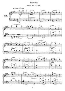 Соната ми мажор, K.496 L.372 P.332: Соната ми мажор by Доменико Скарлатти