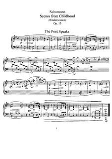 No.13 Поэт говорит: Для фортепиано by Роберт Шуман