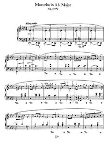 Мазурки, Op.50: No.2 ля-бемоль мажор by Фредерик Шопен