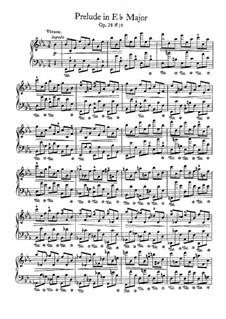 No.19 ми-бемоль мажор: Для фортепиано by Фредерик Шопен