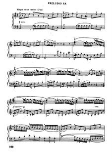 Прелюдия и фуга No.20 ля минор, BWV 865: Для фортепиано (под редакцией Муджеллини) by Иоганн Себастьян Бах