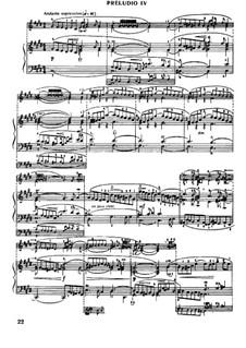 Прелюдия и фуга No.4 до-диез минор, BWV 849: Для фортепиано by Иоганн Себастьян Бах