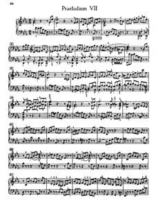 Прелюдия и фуга No.7 ми-бемоль мажор, BWV 876: Для фортепиано by Иоганн Себастьян Бах