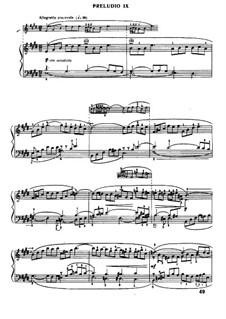 Прелюдия и фуга No.9 ми мажор, BWV 854: Для фортепиано by Иоганн Себастьян Бах