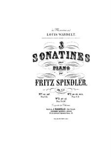 Сонатины для фортепиано, Op.157: Сонатина No.8 ми минор by Фриц Шпиндлер