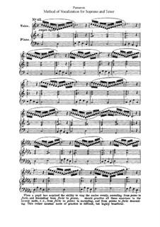 Метод вокализации для сопрано и тенора: Часть II by Огюст-Матье Пансерон