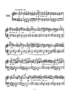 Соната No.104 до мажор, K.159 L.104 P.418: Для фортепиано by Доменико Скарлатти