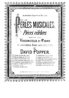 Menuetto Pastorale: Для виолончели и фортепиано – Партия виолончели by Карло Антонио Кампиони